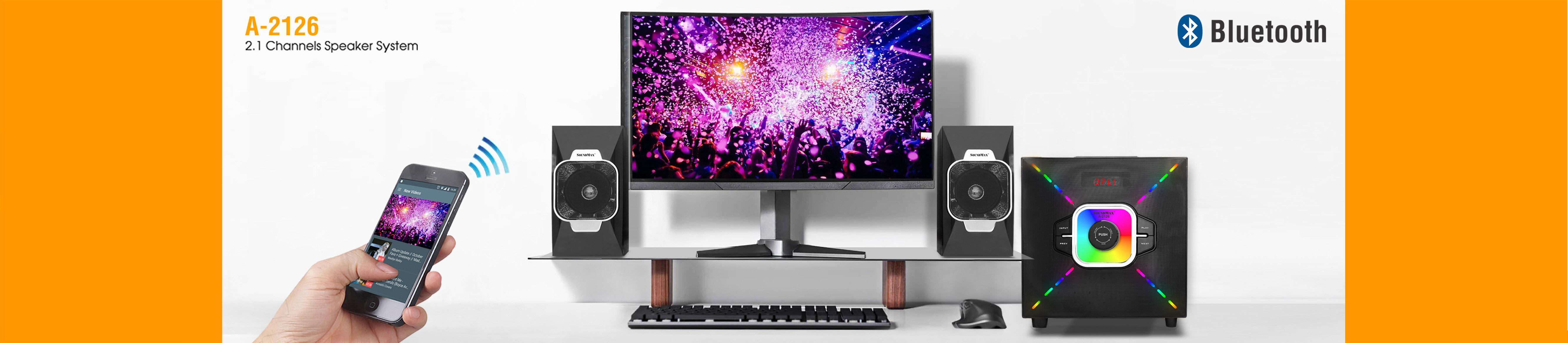 SoundMax - Loa Bluetooth chính hãng giá rẻ